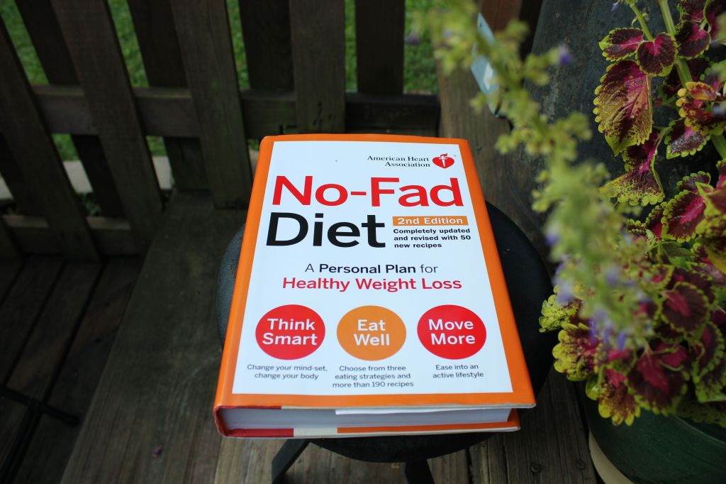 The No-Fad Diet book from the American Heart Association