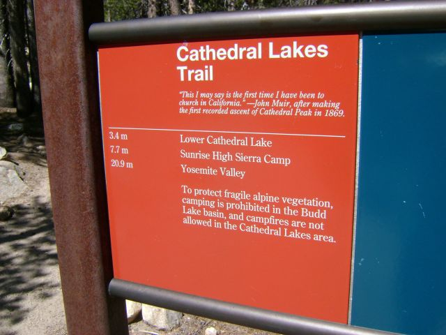9-1-14_Cathedral-Lakes-Sign