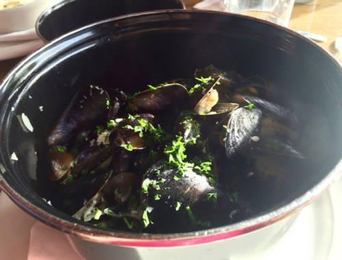 Penn Cove mussels at Maximillian