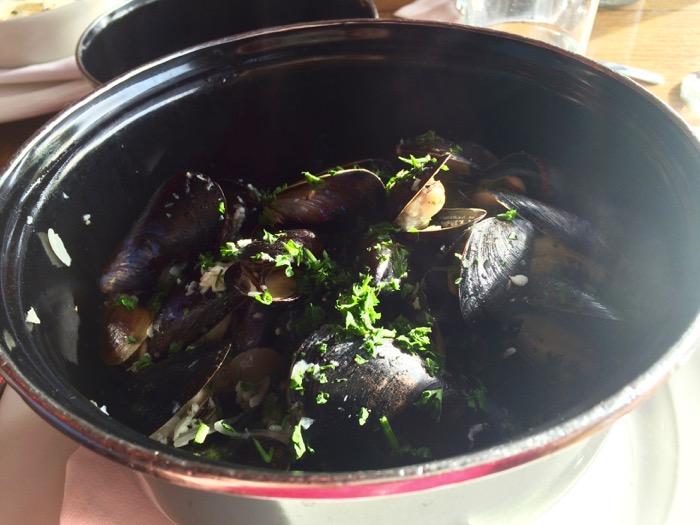 Penn Cove mussels at Maximillian