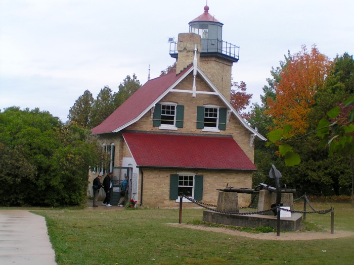 Eagle Bluff Lighthouse in Peninsula State Park