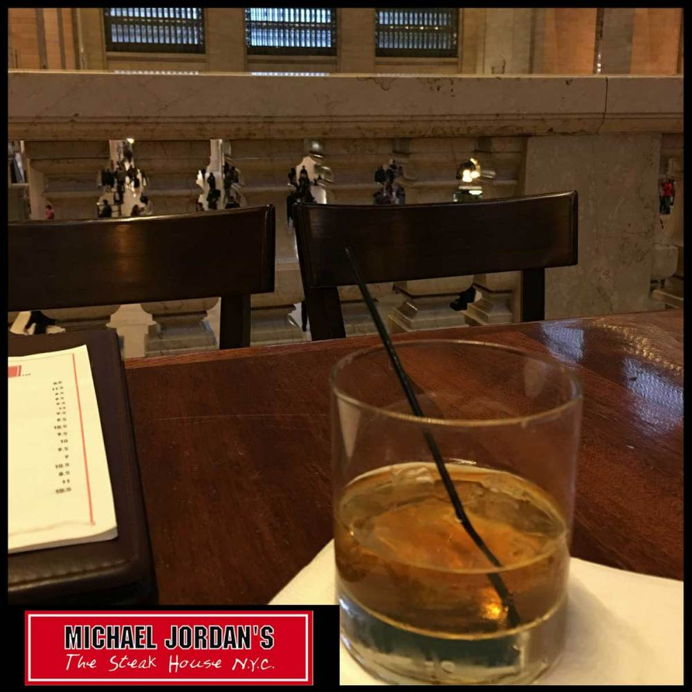 Manhattan at Michael Jordan's Steakhouse