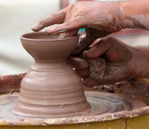 potters-wheel-clay