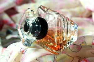 perfume with stopper