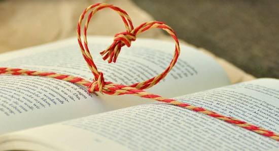 book-with-twine-heart
