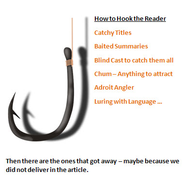 I'm Giving Up the Hook - My Readers Aren't Fish two drops of ink marilyn l davis