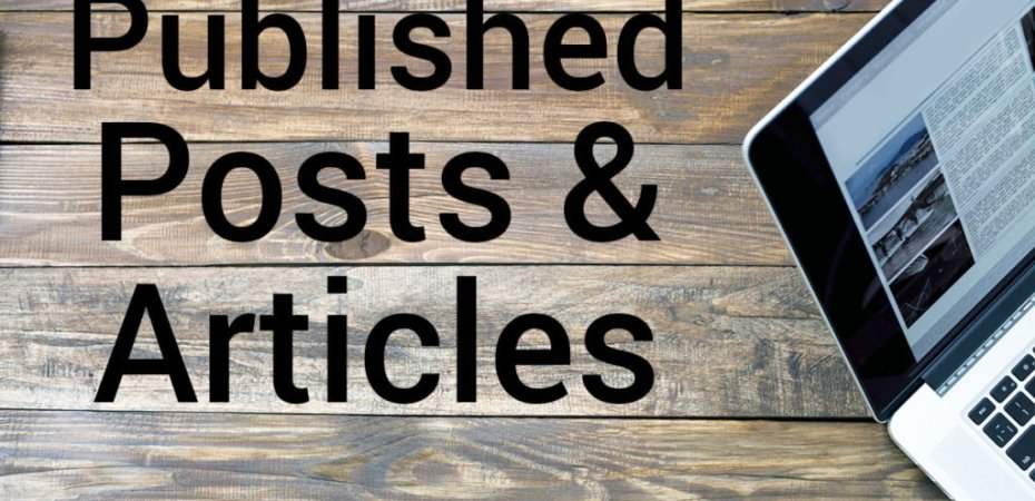 Meet Our Published Contributors two drops of ink published articles and posts