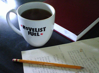 two drops of ink novelist fuel coffee mug KDP