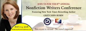 The 8th Annual Nonfiction Writers Conference returns May 2-4, 2018