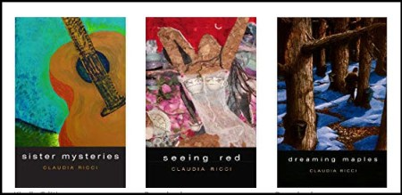 Sunday Spotlight: Claudia Ricci - Writer, Poet, and Artist marilyn l davis two drops of ink