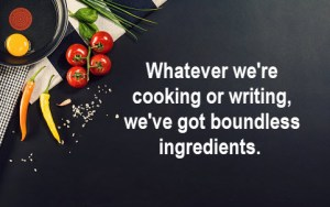 Is Your Writing Home Cookin' or Haute Cuisine? marilyn l davis two drops of ink