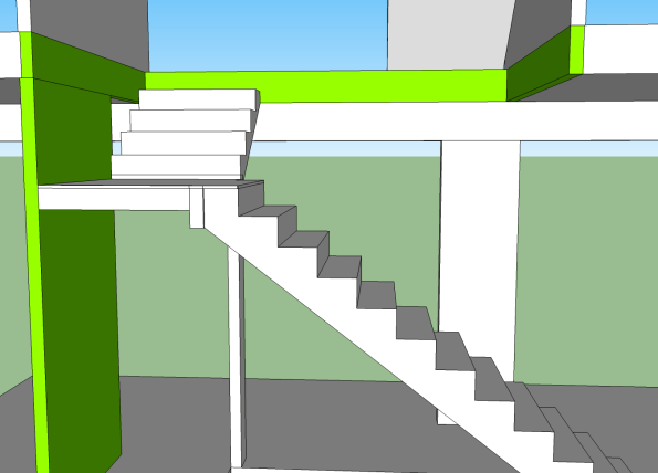 Stair opening