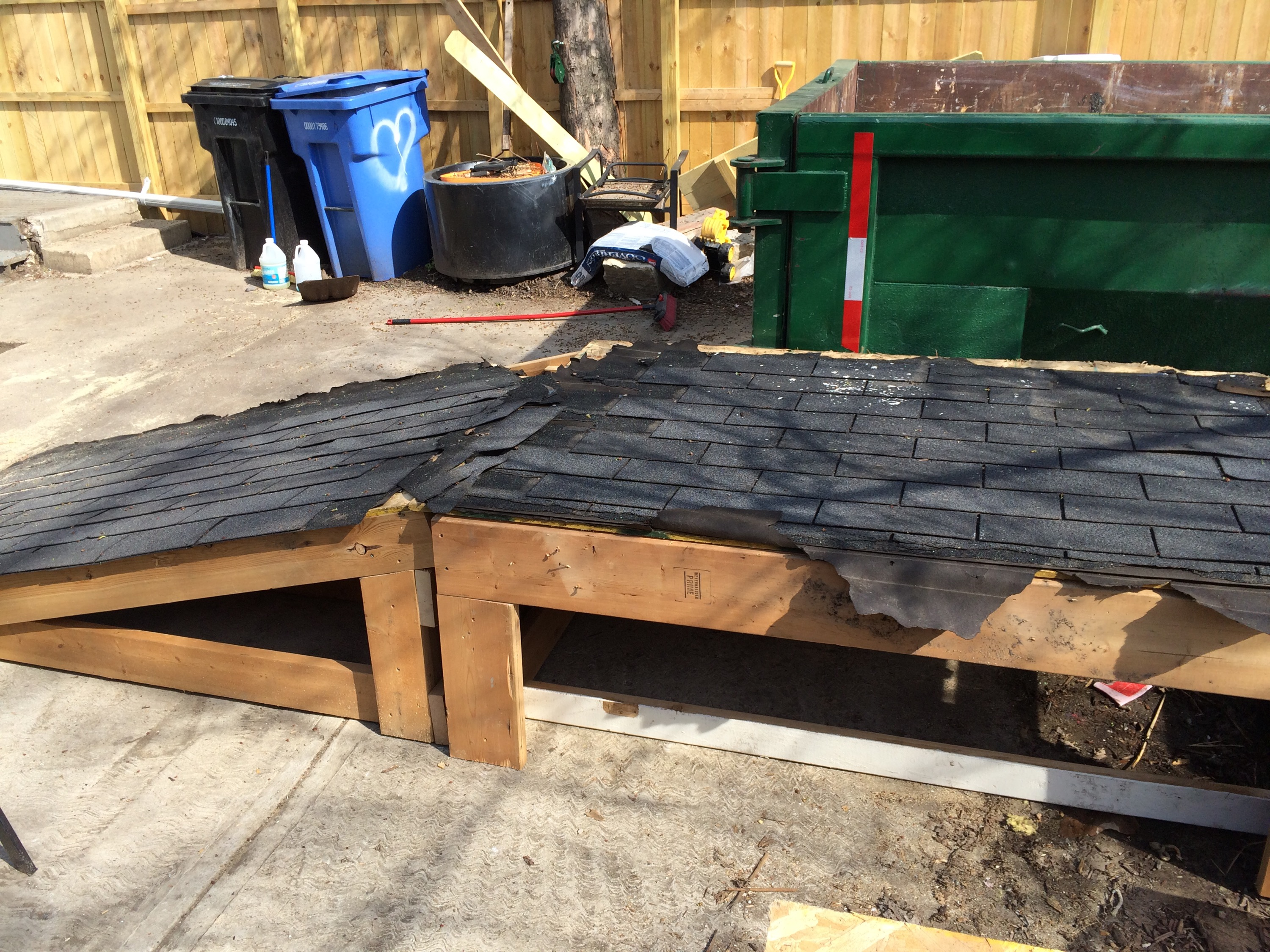 Back Yard Cleanup and Ramp   Two Flat: Remade