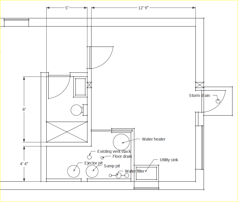 Mechanical Room Layout Two Flat Remade