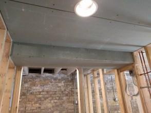 Bulkhead drywall