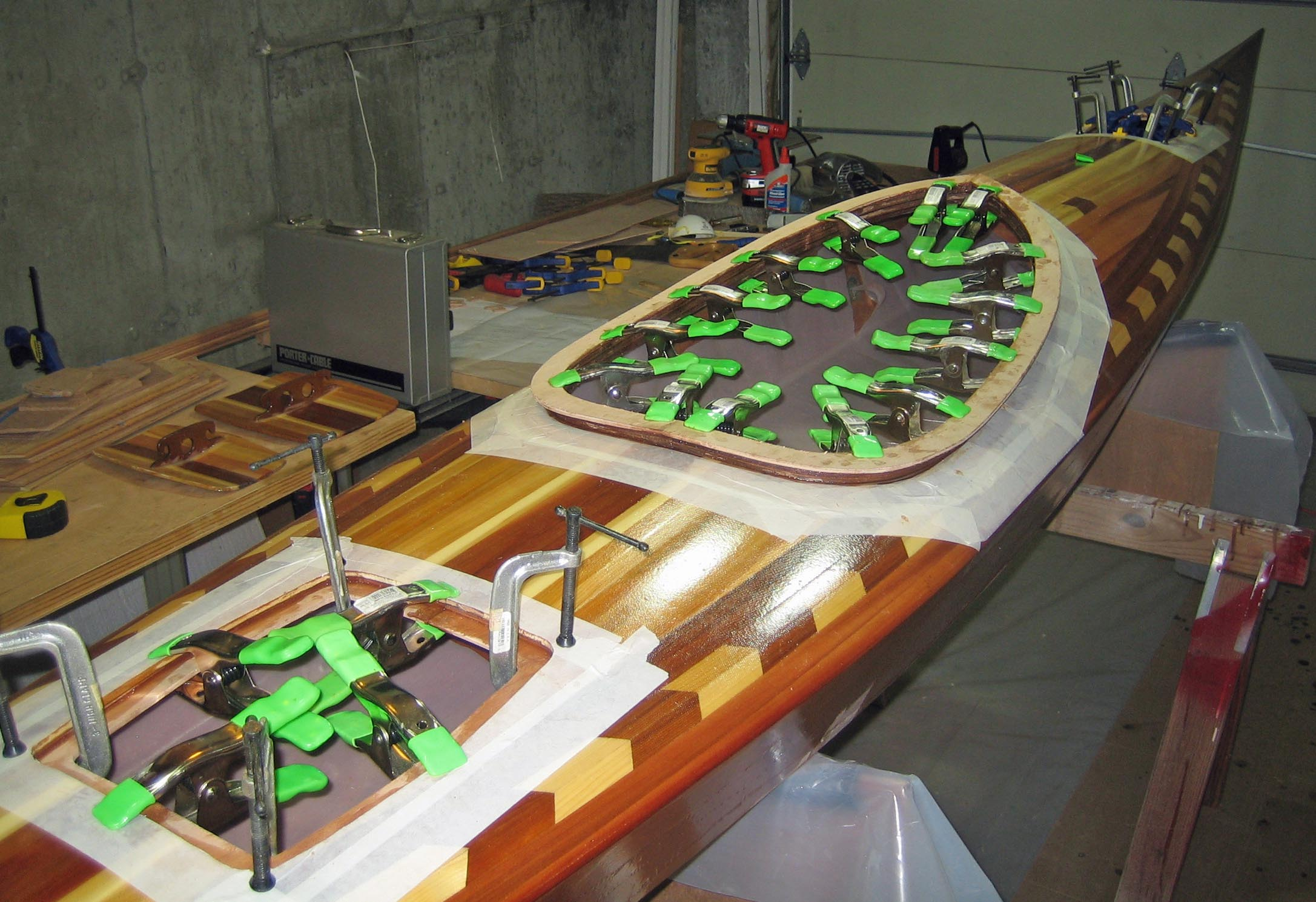 Coaming Clamps