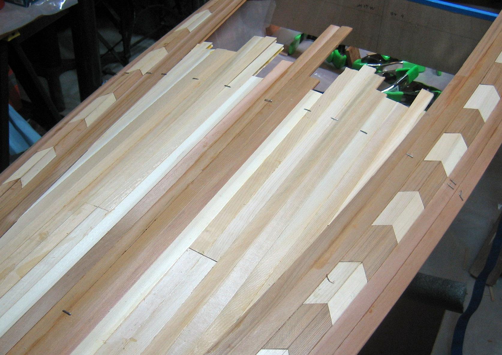 Rear Deck Seams