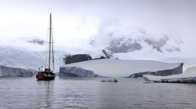 Yes. People do actually sail to Antarctica. Crazy! But how cool?!