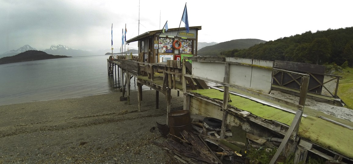 Puerto Guarini, the southernmost post office in the world outside of Antarctica.