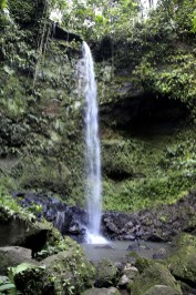 Our guides took us to this gorgeous waterfall deep in the fores, which the Huaorani consider very sacred.