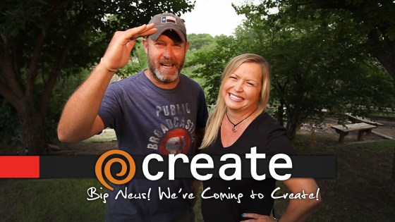 Great Big News Y'all! Two for the Road is Headed for Create TV!