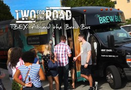 VIDEO: Our First Taste of TBEX! And It Tastes a Lot Like… Beer?