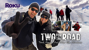 Two for the Road travel show Roku poster