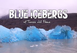 Alien Ice: The Incredible Blue Icebergs of Chile's Torres del Paine