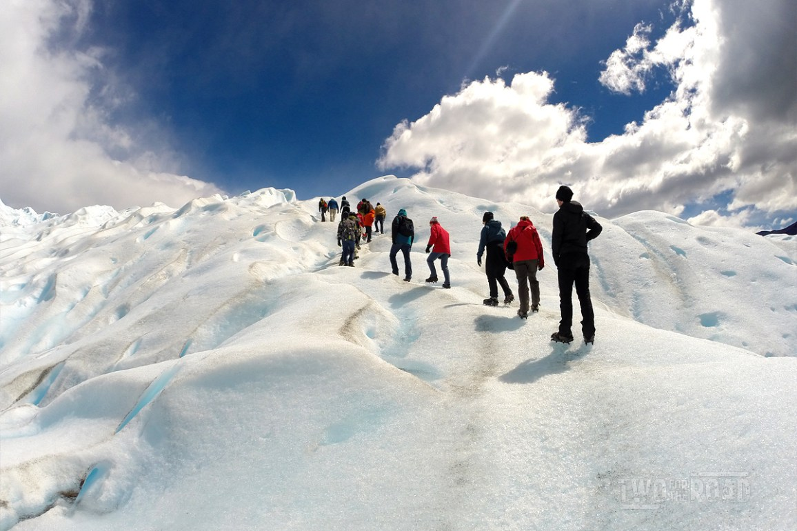 Two for the Road Photo of the Day: Trekking Perito Moreno