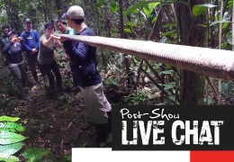 Into the Amazon: Episode Three Post-Show LIVE Facebook Chat