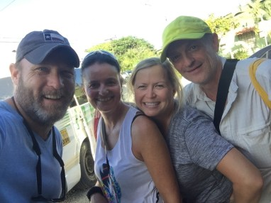Our amazing Austrian friends! Loved our time with these guys! At Selva Bananito (Costa Rica).