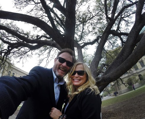 Yep. Took a special walk beneath the Century Tree and cemented our love forever