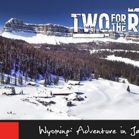 Episode 203: Nik and Dusty head back home to the US, where they spend an epic week exploring the spectacular sights in and around Jackson Hole, Wyoming! Come along as they ride snowmobiles, go in search of incredible wildlife and tackle the slopes of Jackson Hole Mountain Resort.