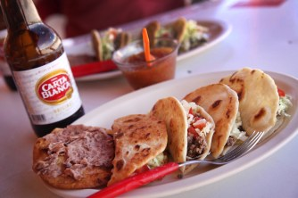 Tacos + cold beer = a great day in Mexico!