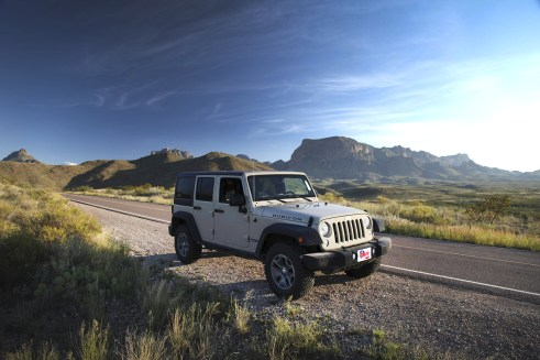 Another groovy shot of the Jeep! Gotta thank Texas Dodge again!