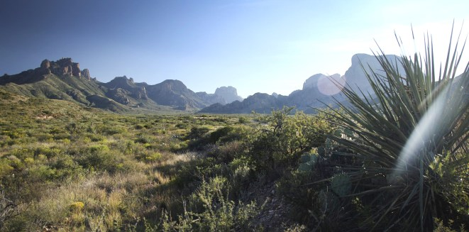 The Chisos, heading into the Chisos Basin.