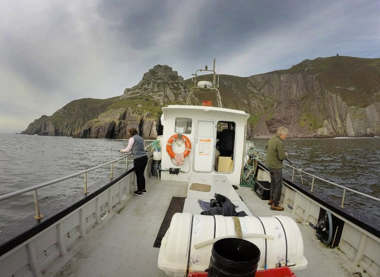 """Spent an amazing day with the good folks from the Dingle Cookery School, which included a """"catch and cook"""" experience! We went out beyond the waters of Dingle Harbor in search of the fish we'd eat for lunch."""