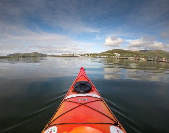 Also spent a couple of hours on the waters of Dinlge Harbour, kayaking with Irish Adventures! Went out in search of Dingle's local celebrity - a dolphin named Fungie - but never spotted him unfortunately.