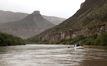 The float trip began from the town of Lajitas and we headed south toward Santa Elena Canyon.