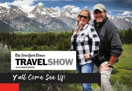 Y'all Come See Us at the New York Times Travel Show!