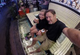Episode Extra: Getting Our First Freaky Fish Pedicure in Cambodia