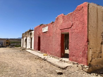 Streets of Boquillas.