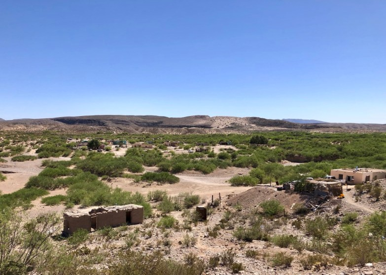 Desert view from Boquillas.