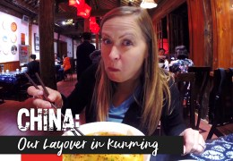 VIDEO: Our Layover in Kunming, China. And Look! A Dairy Queen!