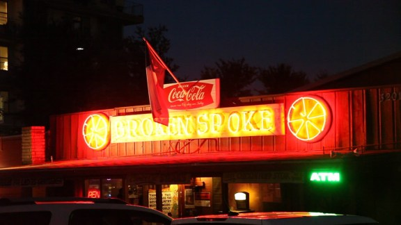 Filming at the finest honky tonk in all of Texas? Not a bad night's work! :) Welcome to the Broken Spoke!