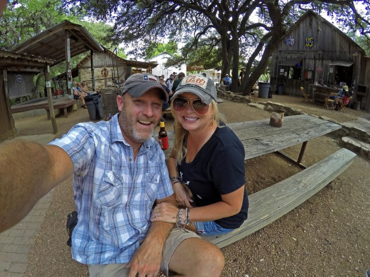 Howdy from legendary Luckenbach, Texas!