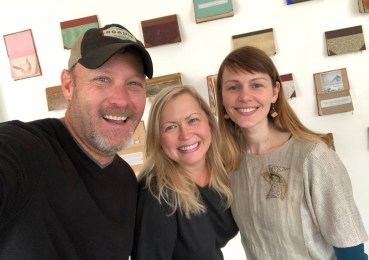 Selfie with Vaida, one of the creators and curators at Hversdagssafn - museum of everyday life, and who we just randomly dropped in on to see if we could film our TV show there. :) Thanks Vaida for showing us around and talking with us! We love what you guys are doing!