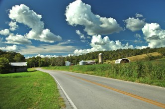 The gorgeous Kentucky countryside. Such a beautiful state!