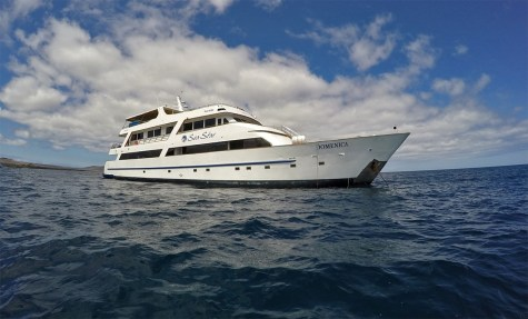Our ride around the islands! The beautiful Sea Star Journey. Thanks again to Latin Trails for spoiling us this week!