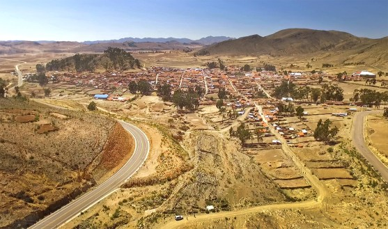 The little village of Tarabuco, famous for its Sunday markets.